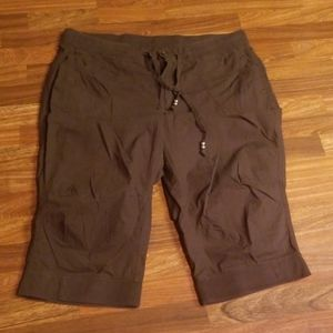 Brown Lane Bryant Cargo Capris